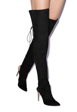 ACELINE THIGH HIGH HEELED BOOT