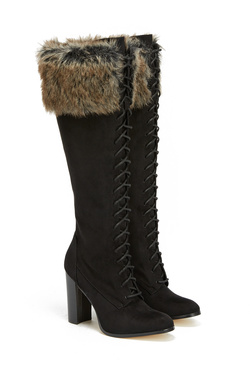 GEORGETTE HEELED BOOT