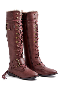 ADDISON FLAT BOOT