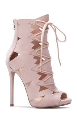 ANALY CUTOUT STILETTO BOOTIE