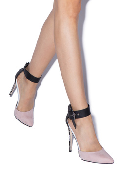 BEXLEY DETAILED POINTED TOE PUMP
