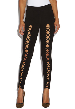 FRONT LACE UP LEGGING