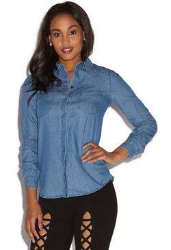 00ae7ccaa8df4 Chambray Shirt