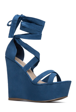 LAINY ANKLE WRAPPED WEDGE
