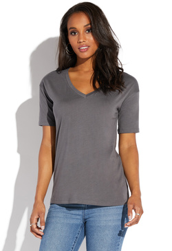 bfa53e106be07 V-NECK TEE ...