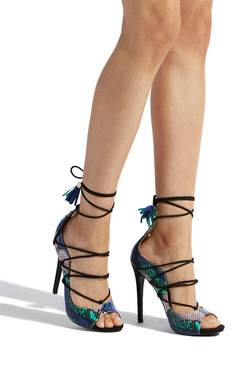 BENTLEY ANKLE TIE STILETTO