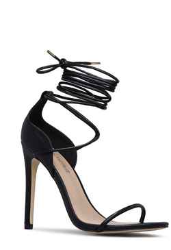ANTONYA ANKLE WRAPPED HEELED SANDAL