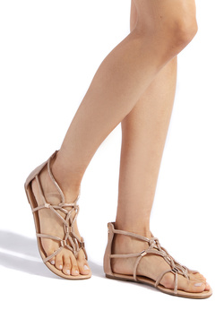 BETTE CAGED FLAT SANDAL