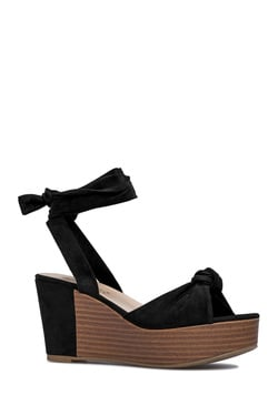 ISSEY ANKLE TIE WEDGE