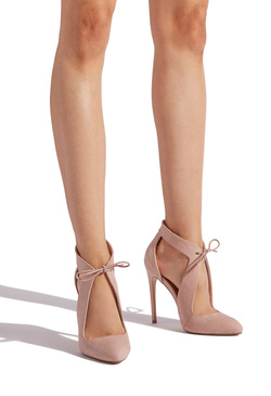 MONIQUE LACE DETAILED STILETTO PUMP