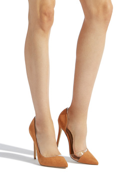 QUINNY ASYMMETRICAL STILETTO PUMP