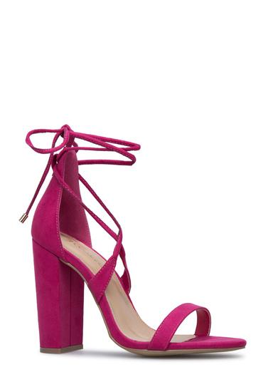 1e8131cb7ea Material  Faux-Suede  Color  Fuchsia  Outside Heel Height  4