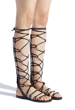 EARNESTA LACE UP GLADIATOR SANDAL