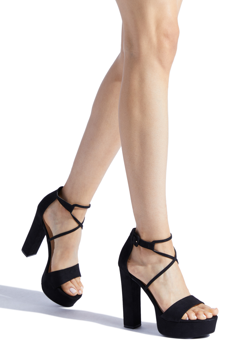 991bc63235fad Material: FAUX-SUEDE; Fit: TRUE TO SIZE; Platform Height: 1.25