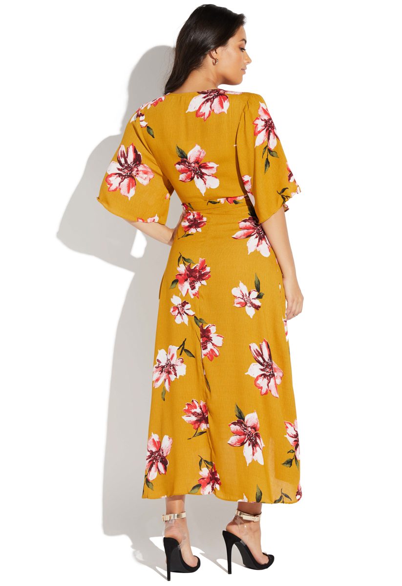 e9d354acd04 Fabrication  100% POLYESTER  Color  MUSTARD  Length  50