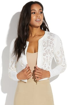 GOLD EMBELLISHED JACKET