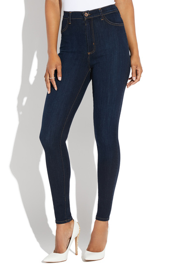 e4ef292ee960 SUPER HIGH WAISTED SKINNY JEANS - ShoeDazzle