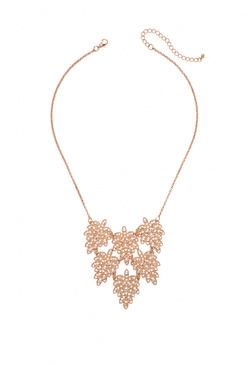 GILDED FLORALS NECKLACE
