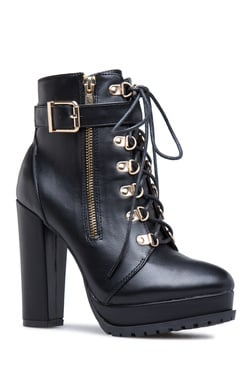 preview of new concept latest design Women's Wide Calf, Peep Toe, Mid Heel, Flat Heel, Rhinestone Boots ...