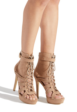TONDA LACE UP STILETTO