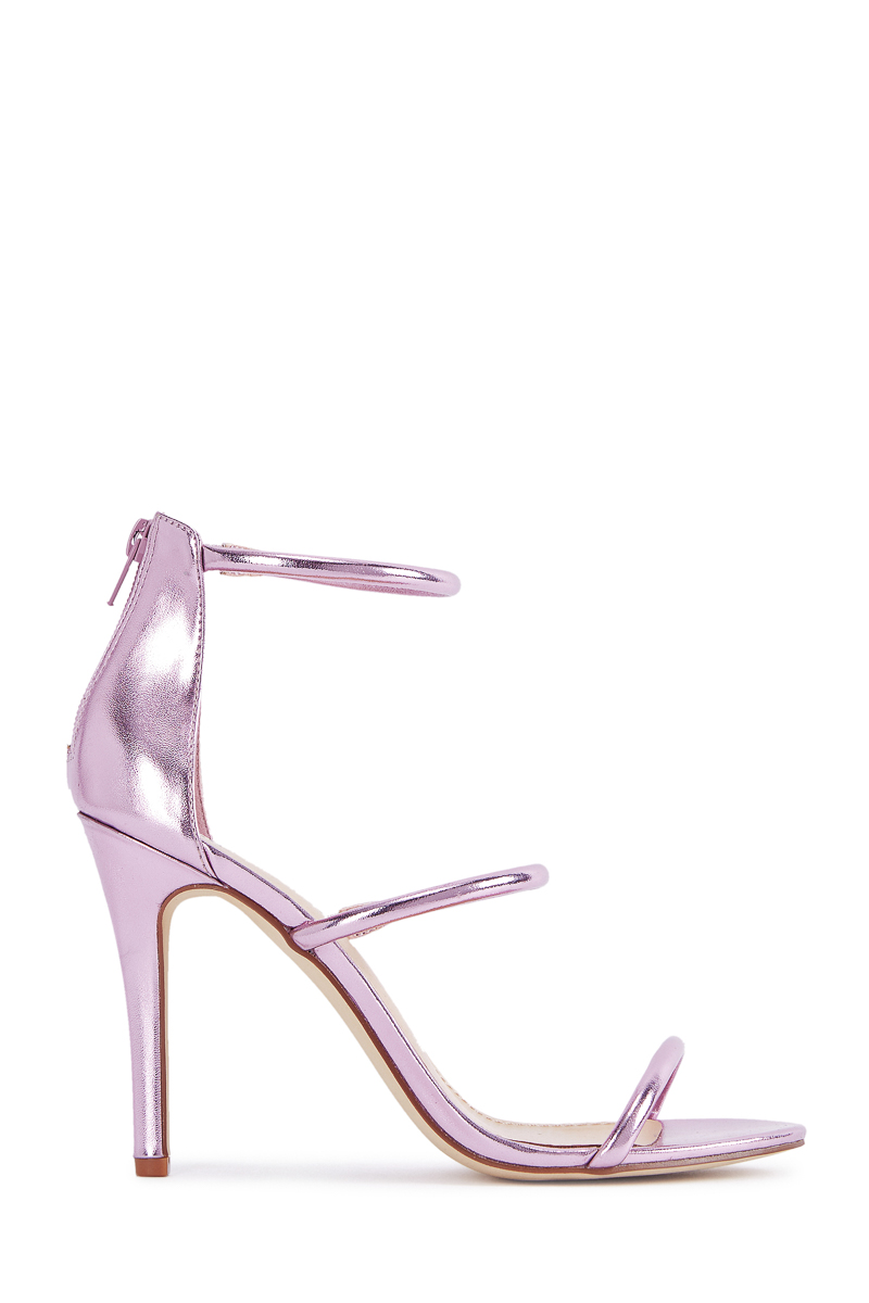 5d30ffb6226b6 Material  FAUX-LEATHER  Fit  TRUE TO SIZE  Color  PINK METALLIC  Outside  Heel Height  4.0