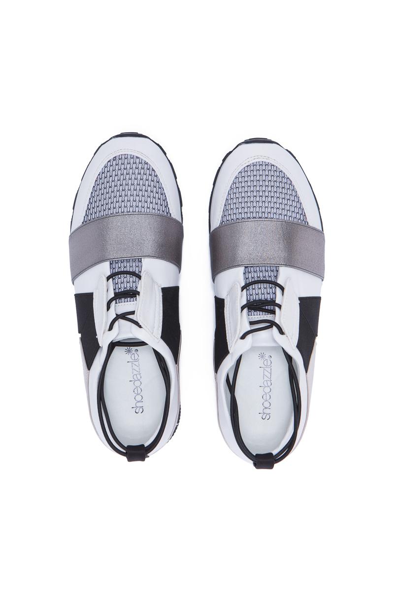 PRIYA FAUX LEATHER SNEAKER - ShoeDazzle