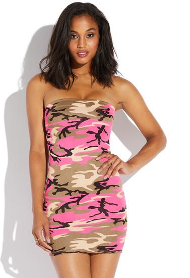 Spandex Mini Tube Dress