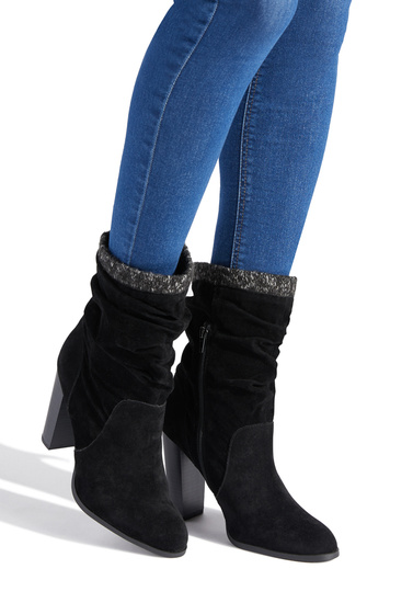 912fc79c5af Color  BLACK  Outside Heel Height  4