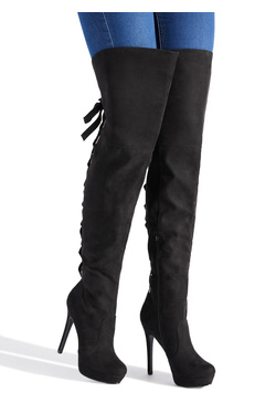 JANNELLA PLATFORM STILETTO BOOT