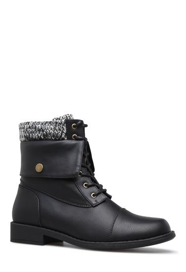 bd8ac2e96d BRIANNA SWEATER CUFF BOOTIE - ShoeDazzle