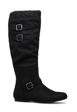 AIDEE SLOUCHY FLAT BOOT