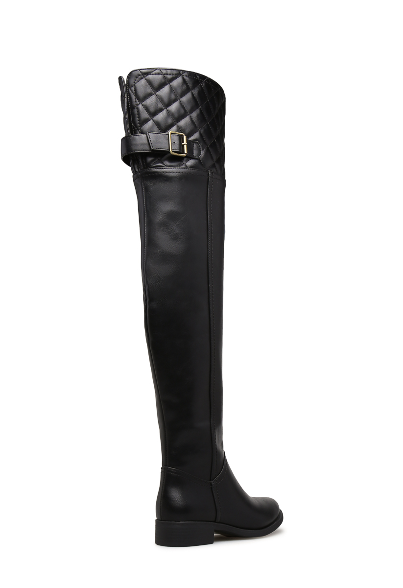 AVELINE BOOT QUILTED FLAT BOOT AVELINE SchuheDazzle 21b3b6