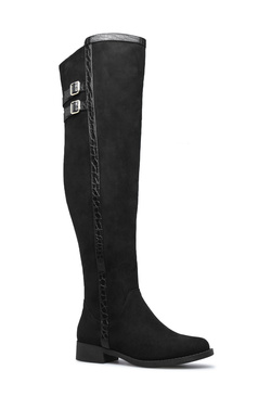 CORALIE DOUBLE BUCKLE BOOT