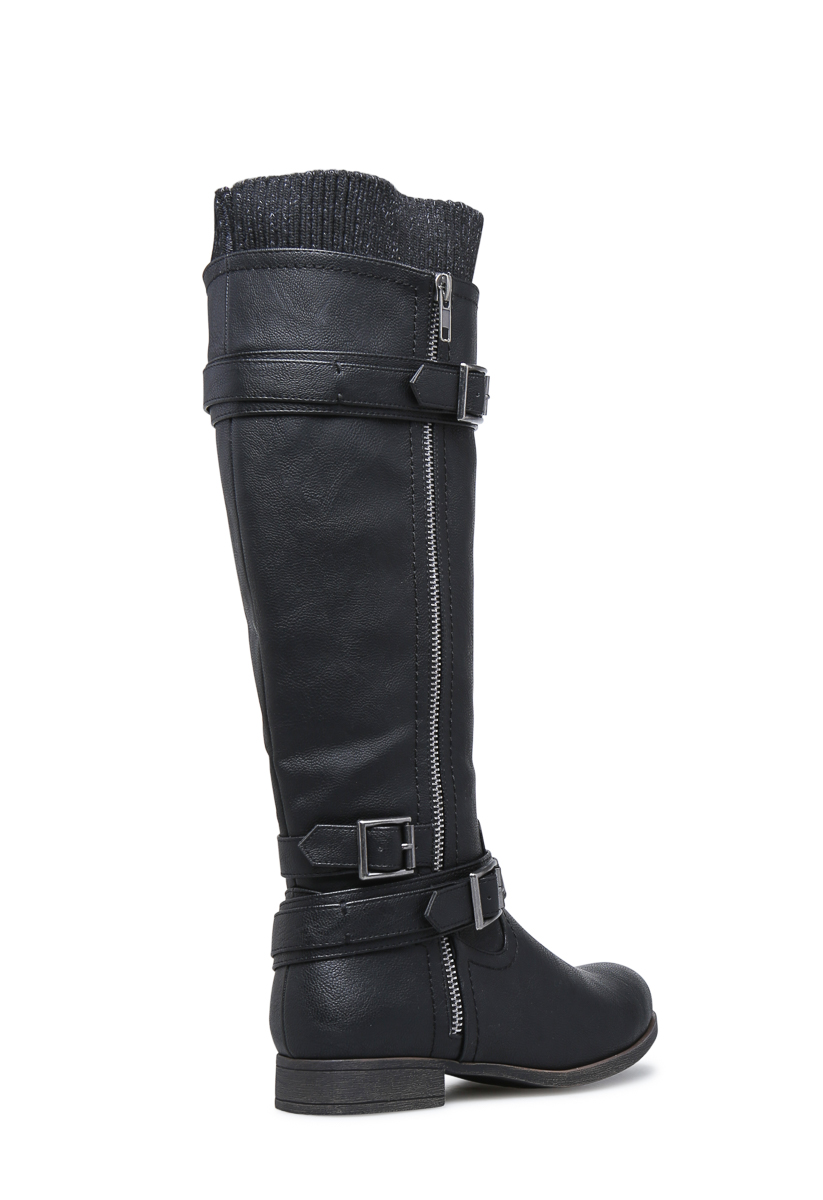 7a0c0402cebd Material  Faux-Leather  Calf Circumference  Reg  16.5