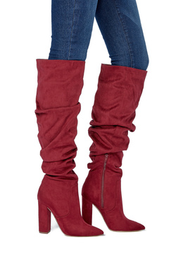LIFE OF THE PARTY HEELED BOOT