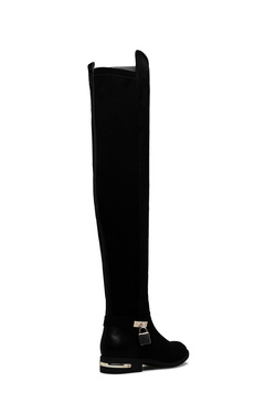 LILOU MIXED MATERIAL BOOT