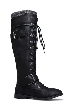 SCOUT LACE UP COMBAT BOOT