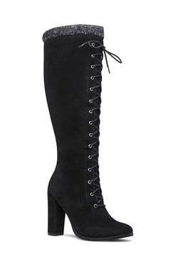 PORSHA SWEATER TRIM BOOT