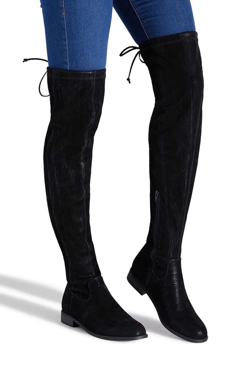 exclusive shoes crazy price latest selection JESSI THIGH HIGH BOOT