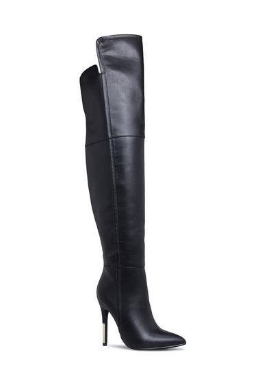 ae36bf19e05 Material  Faux-Leather  Calf Circumference  Reg  16.5