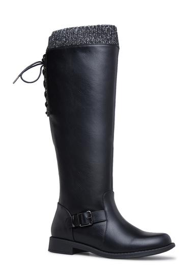 5f8edc0a3e6 Material  Faux-Leather  Calf Circumference  Reg  16.5