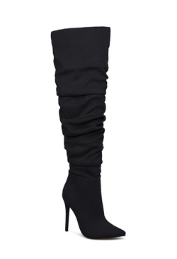 NADINE RUCHED STILETTO BOOT