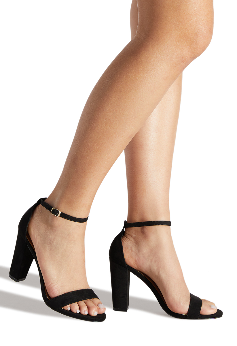 3053d908481 Material  Faux-Suede  Fit  True to Size  Color  Black  Outside Heel Height   3.75