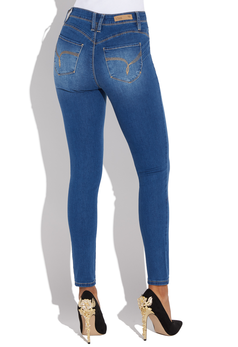 8ef45a8030f BOOTY LIFTING HIGH RISE SKINNY - ShoeDazzle
