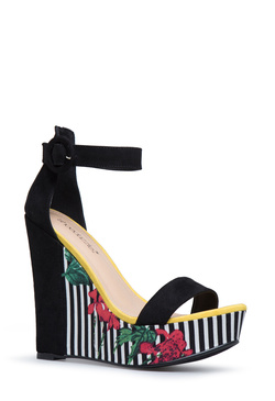 ALLY COLORBLOCK PLATFORM WEDGE