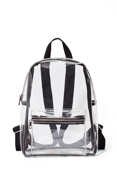 CLEAR BACKPACK - ShoeDazzle fc9b43d622