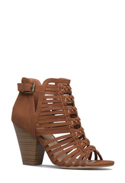 GREER CAGED HEELED SANDAL