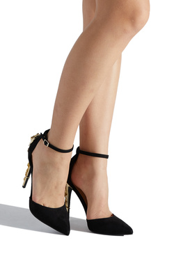 JULES METALLIC HEEL PUMP