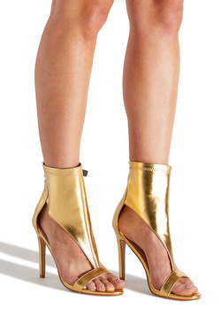 RECKLE$$ ANKLE CUFF HEELED SANDAL