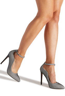 PAID ANKLE STRAP PUMP